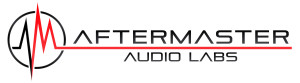 AFTERMASTER AUDIO LABS LOGO ON WHITE
